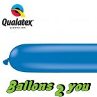 Qualatex 260Q Blue - Blau Modellierballons