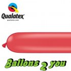 Qualatex 260Q Rot Modellierballons