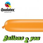 Qualatex 260Q Mandarin Orange Modellierballons