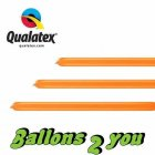 Qualatex 160Q Orange Modellierballons