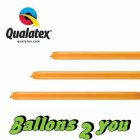 Qualatex 160Q Mandarin Orange Modellierballons