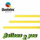Qualatex 160Q Yellow - Gelb Modellierballons