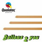 Qualatex 160Q Mocha Brown Modellierballons