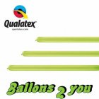 Qualatex 160Q Lime Green Modellierballons