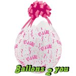 It`s A Girl Qualatex Verpackungsballon  - 45cm