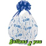 It`s A Boy Qualatex Verpackungsballon - 45cm