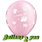 Pearl Pink A Baby Girl - 30cm