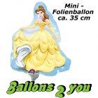 Belle Mini Folienballon - 35cm