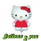 Hello Kitty Mini Folienballon - 35cm