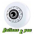 Qualatex Eye Ball Luftballons - 12cm