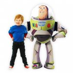 Airwalker Ballon Buzz Lightyear - 134 cm