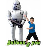 Airwalker Star Wars Storm Trooper  Folienballon - 177cm