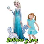 Airwalker Disney Frozen Elsa Folienballon - 144cm
