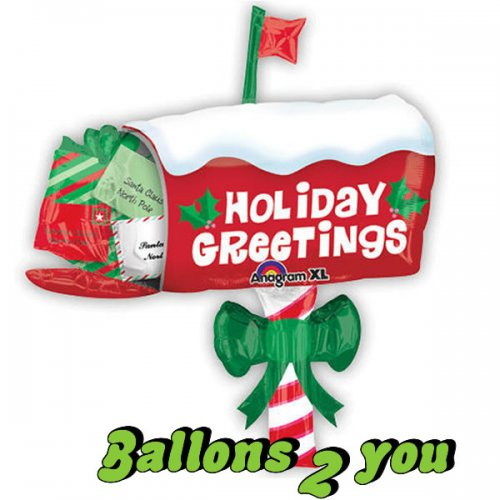 Mailbox Holiday Folienballon - 76cm
