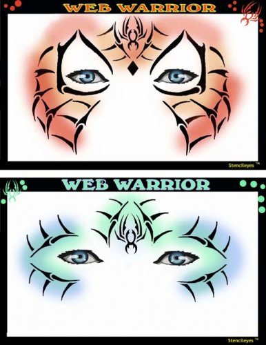 Web Warrior - Airbrush Schablone