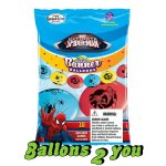 Spiderman Luftballon Girlande - 3 m