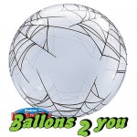 Qualatex Spider's Web Bubble - 56cm