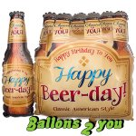Happy Beer Day Folienballon - 64cm