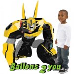 Airwalker Bumble Bee Folienballon - 119cm