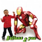 Airwalker Iron Man Folienballon - 116cm
