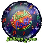 Rock n' Roll Folienballon - 45cm
