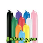 Qualatex Classic Assortment 260Q Modellierballons