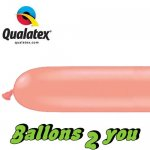 Qualatex 260Q Rose Gold Modellierballons