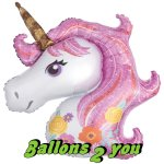 Einhorn Magical Unicorn Folienballon - 88cm