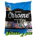 Qualatex Chrome Ass. 260Q Modellierballons