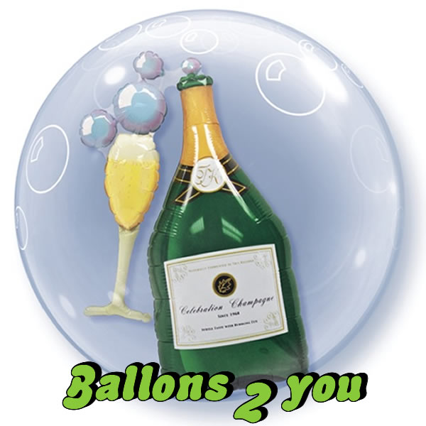 Champagner Bubble
