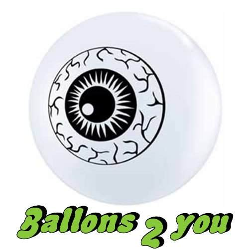 Luftballon Eye Ball