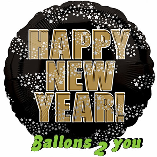 Happy New Year Folienballon