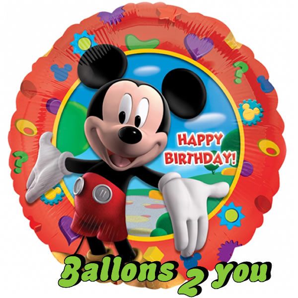 Mickey Maus Folienballon