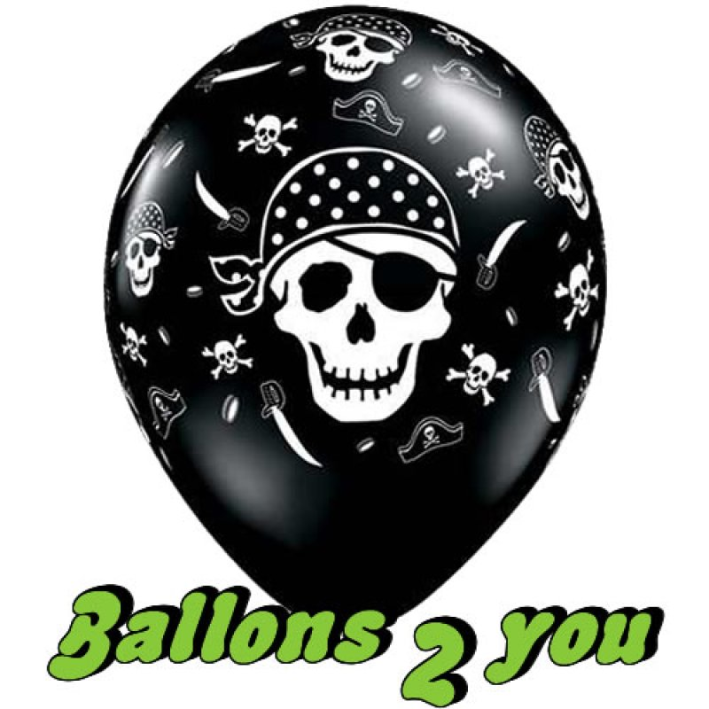 Luftballons Piraten