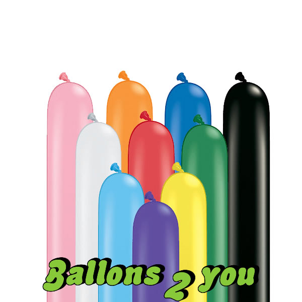Qualatex Traditional 260Q Modellierballons