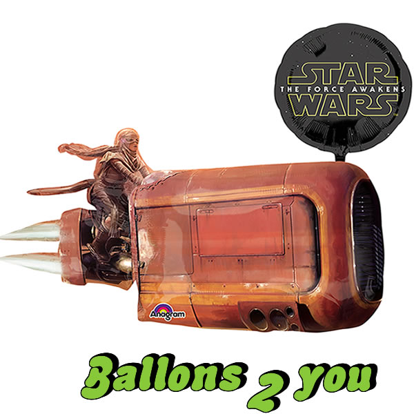 Folienballon Star Wars Force Awakens Land Speeder